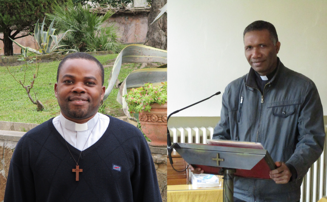 El testimonio de dos vocaciones nativas en el Colegio San Pedro de Roma