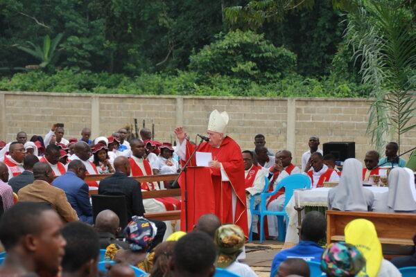 Monseñor Olaverri agradece a OMP la presencia misionera estable en la selva de Punta Negra
