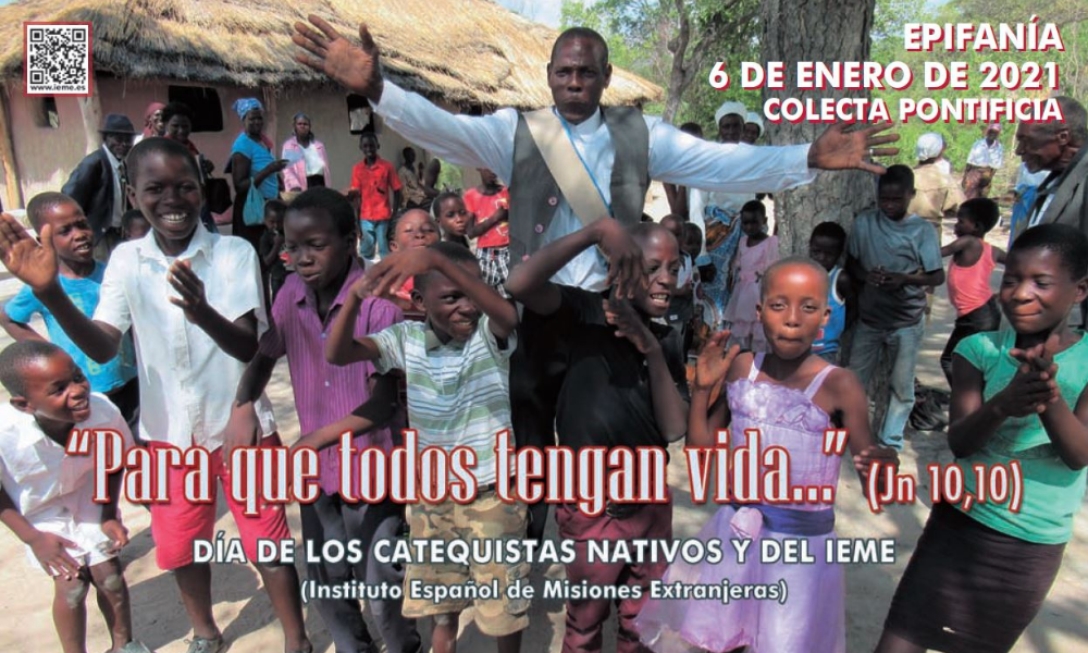 Epifanía, Jornada de los Catequistas Nativos y del Instituto Español de Misiones Extranjeras