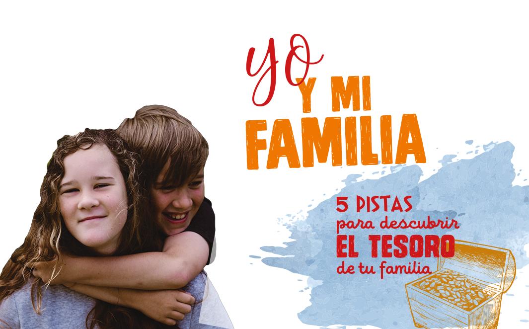 Preparándonos para la Jornada de Infancia Misionera: yo… y mi familia